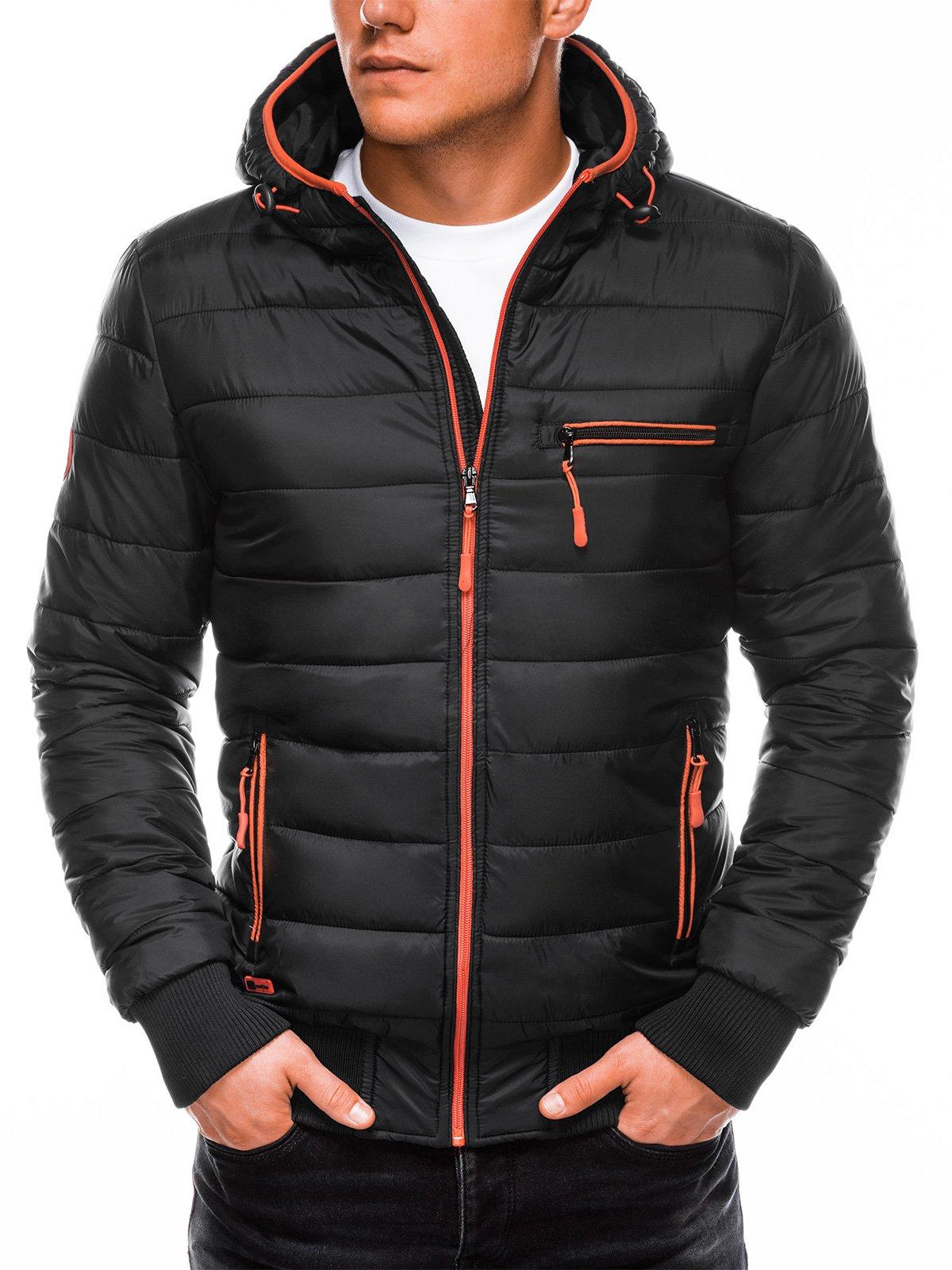 Купить со скидкой Куртка чоловіча демісезонна стьобана C353 - чорна