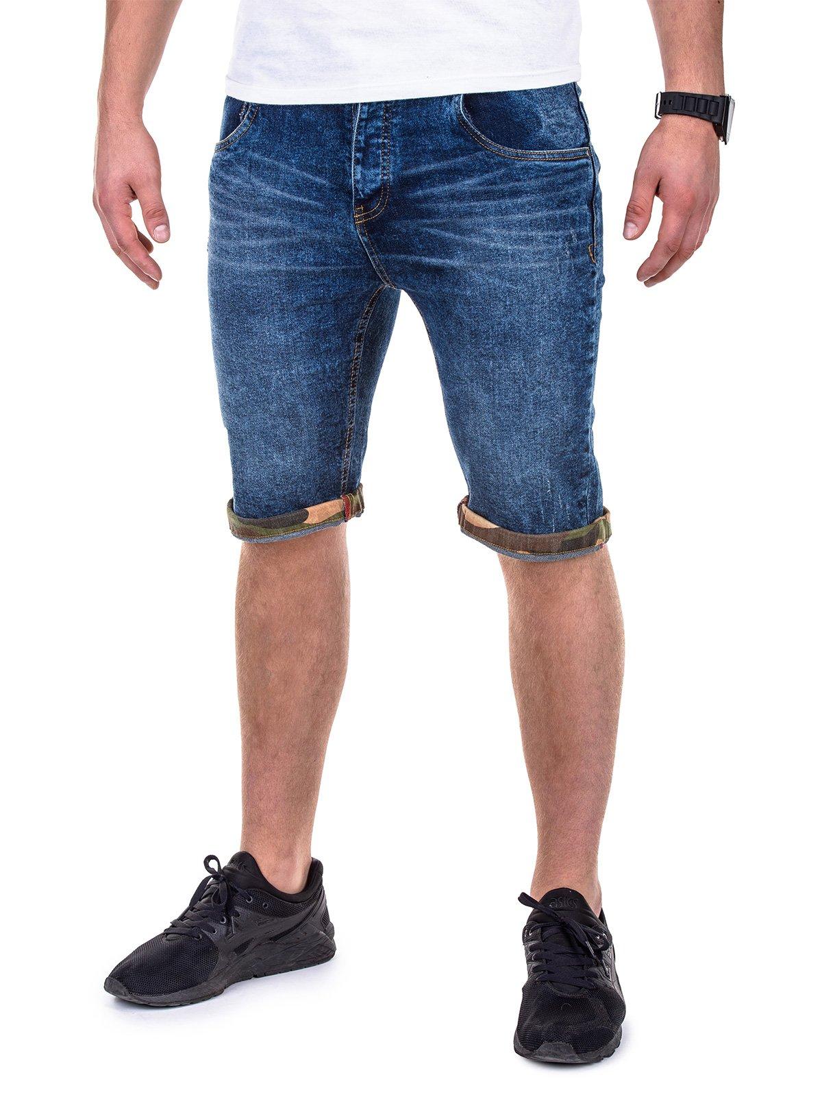 Шорти короткі чоловічі джинсові P415 - джинсові