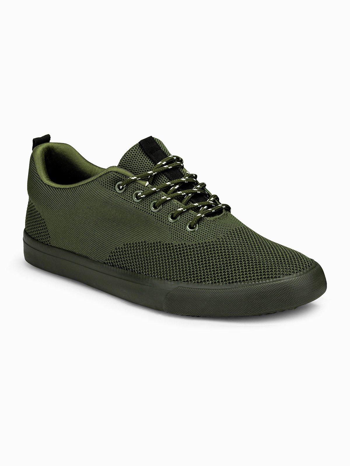 Купить со скидкой Взуття чоловіче кросівки T303 - оливкові