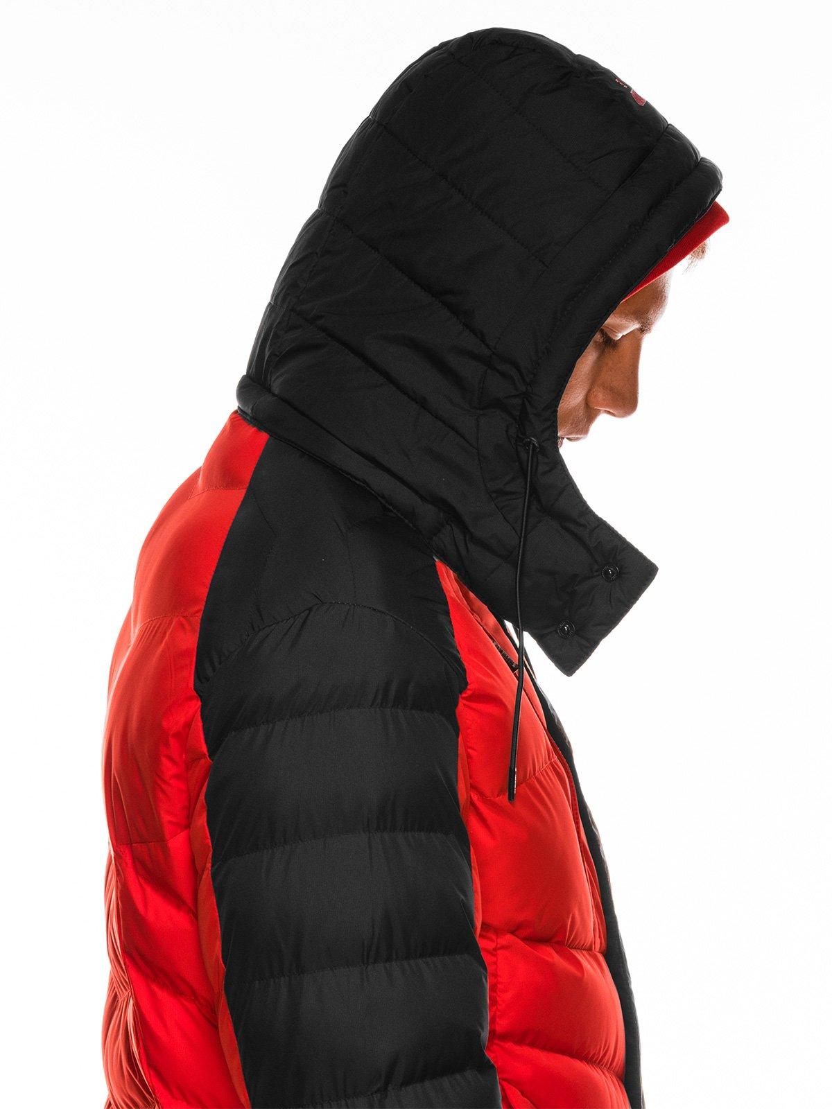 Купить со скидкой Чоловіча зимова куртка C417 - червона