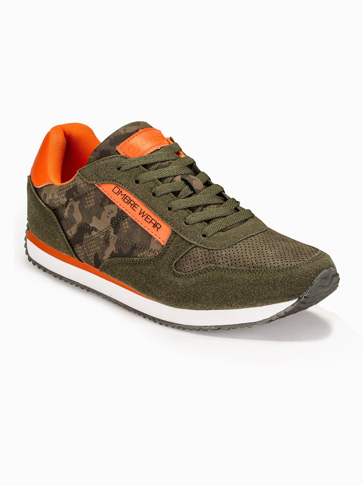 Купить со скидкой Взуття чоловіче кросівки T310 - зелені/камуфляж