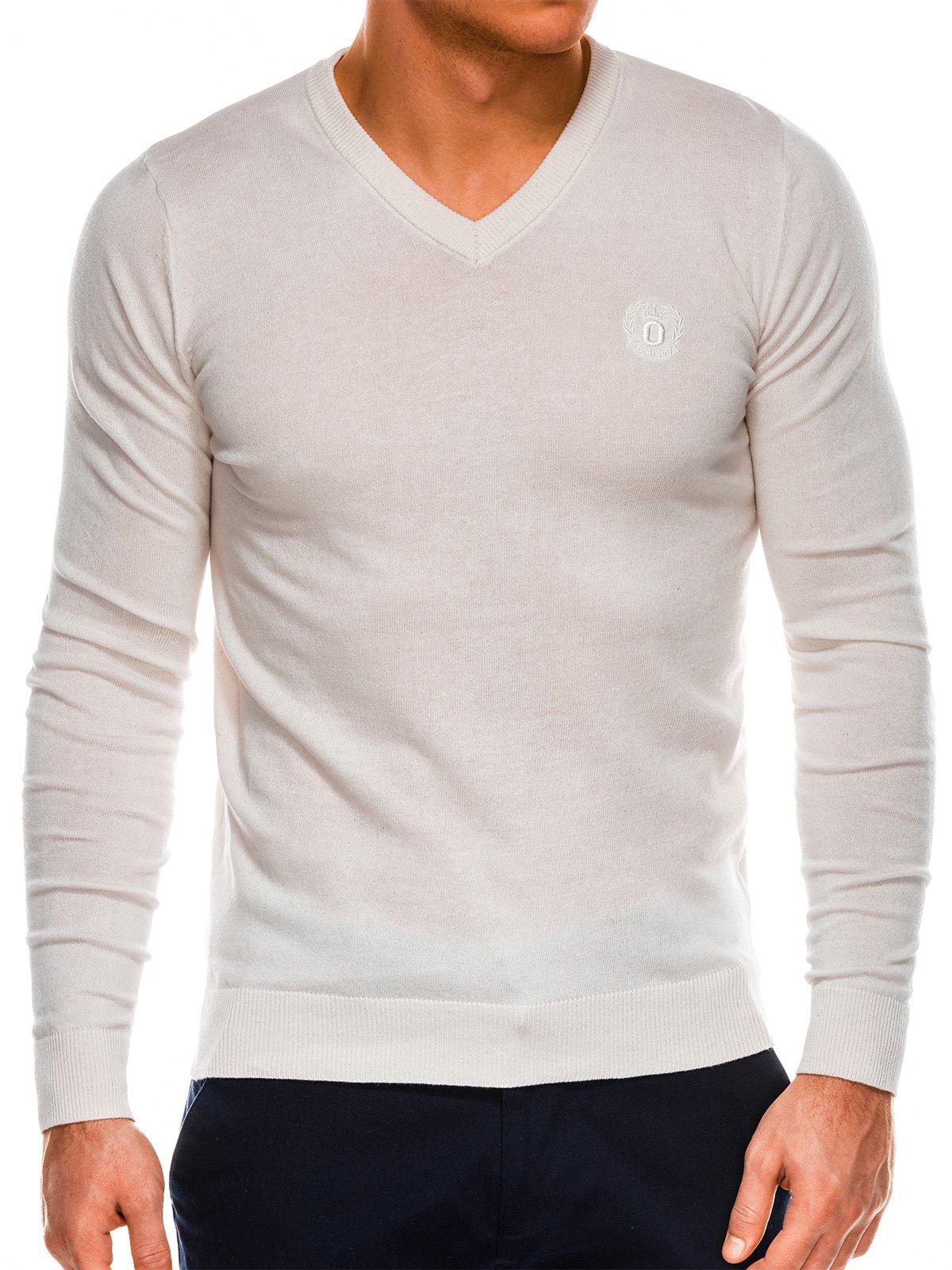 Купить со скидкой Чоловічий светр E74 - сіро-бежевий