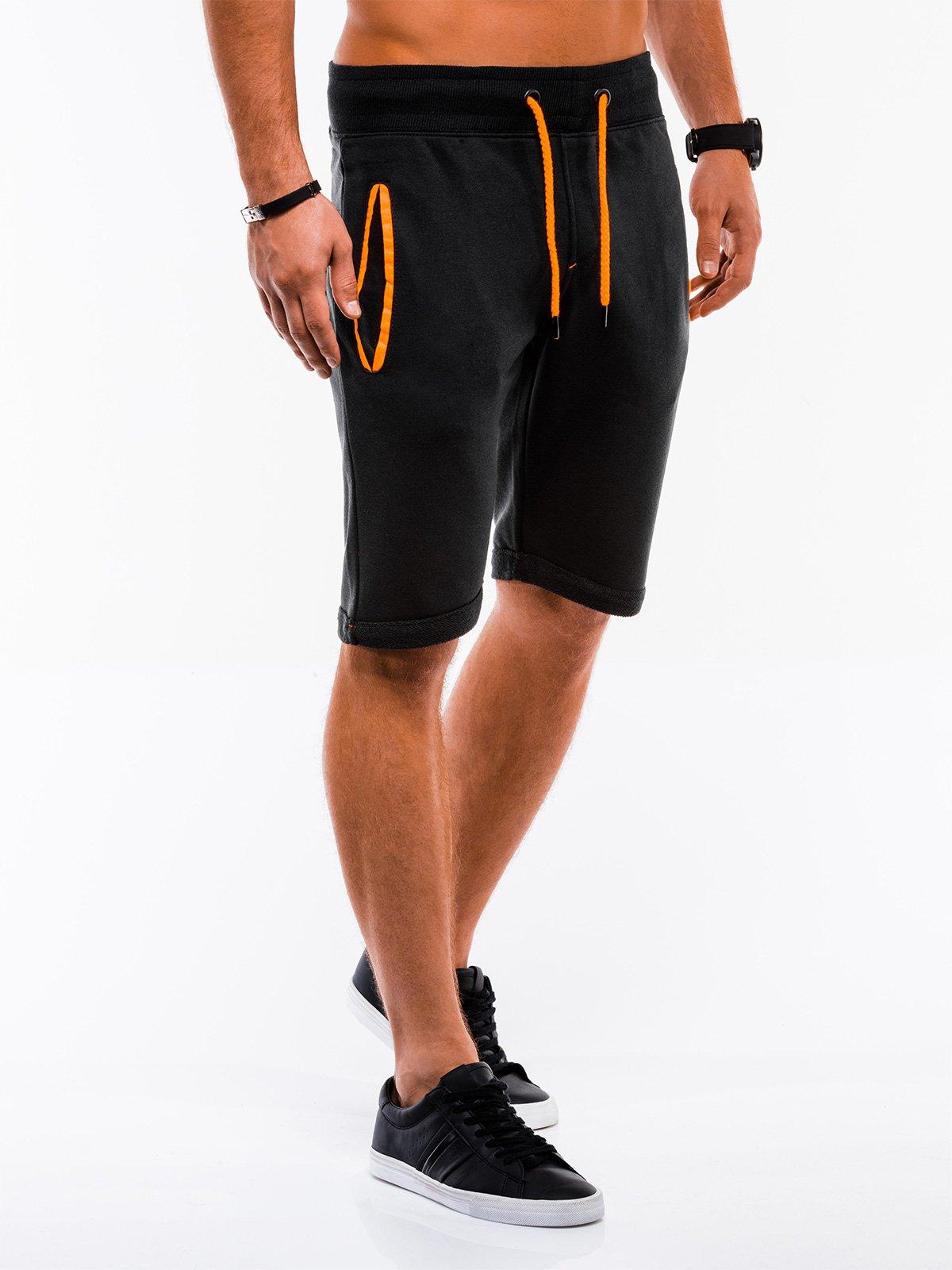 Шорти короткі чоловічі спортивні P518 - чорні