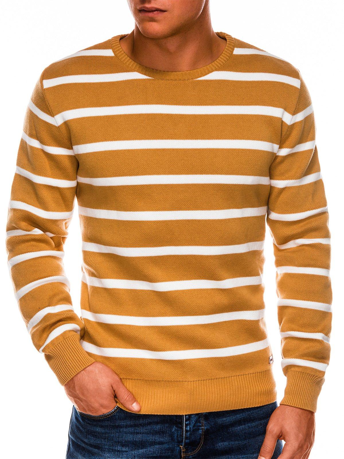 Купить со скидкой Чоловічий светр E155 - жовтий