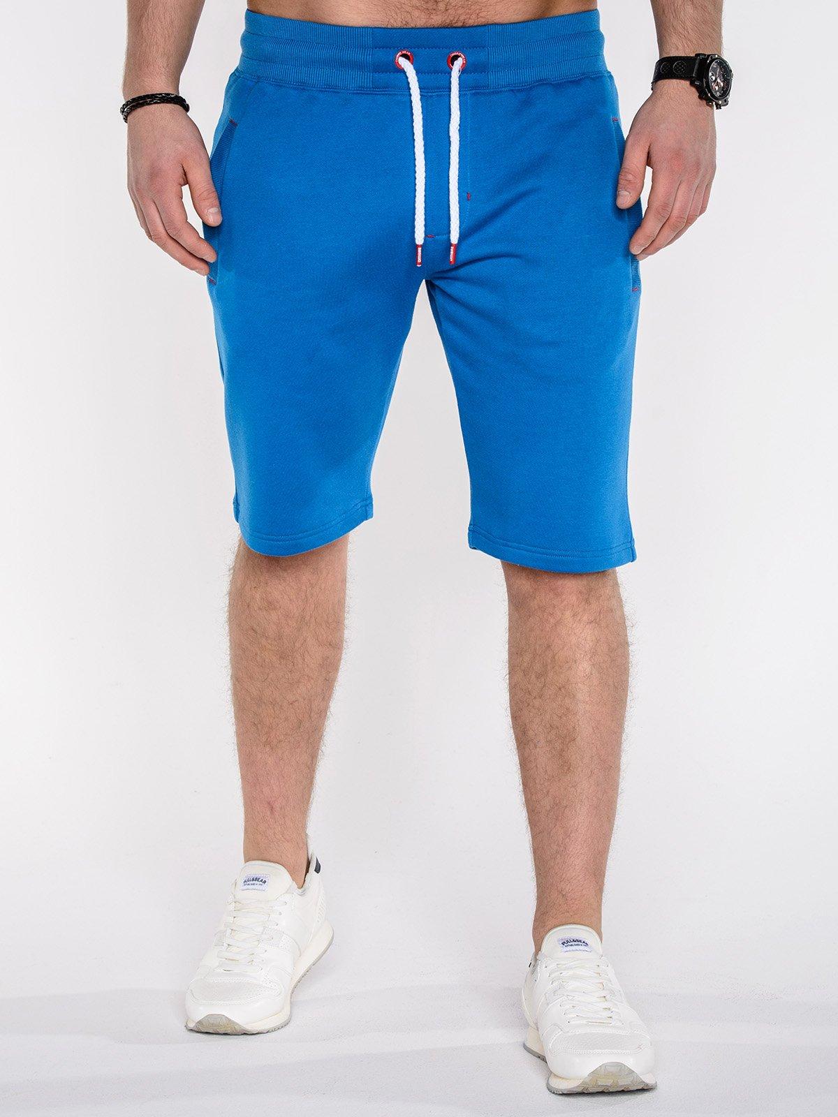 Шорти короткі чоловічі спортивні P512 - сині